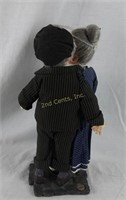 Giftcraft Town Folk Young Hearts # 342012 In Box