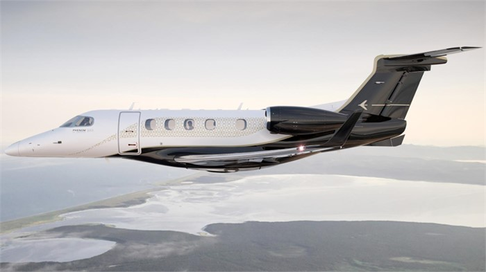 Embraer Announces Its Upgraded Phenom 300e Featuring Single Pilot Speed Up To Mach 0 80 Controller Blog