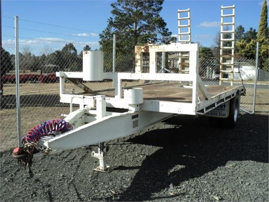 2002 Custom Built Tag Trailer - Trailers for Sale