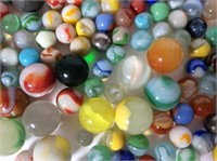 Lot of Assorted Old Marbles