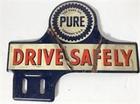 2 Vehicle License Plate Badges