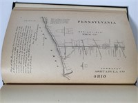 1883 Pennsylvania and Ohio Boundary Lines