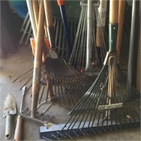Group of Various Lawn Equipment