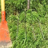Push Broom, Shingle Scraper, Pitch Fork