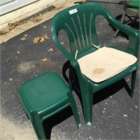 PVC Chair and PVC Stand