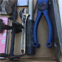 Wood Bits, Levels, Scraper, Wrench