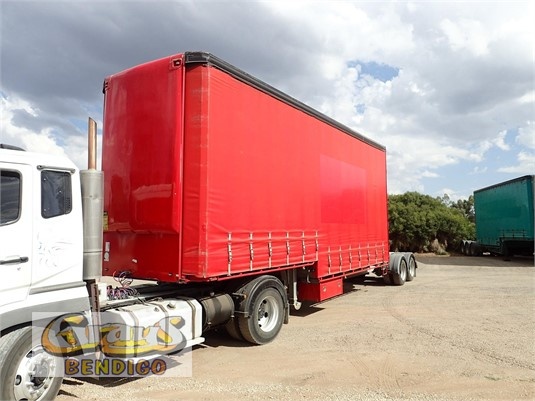 2004 Maxitrans Curtainsider Trailer Grays Bendigo - Trailers for Sale