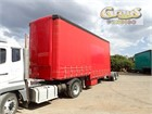 2004 Maxitrans Curtainsider Trailer B Double Lead/Mid
