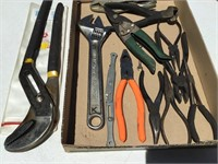 Various Pliers, Wrenches