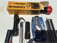 Aluminum and Plastic Flashlights