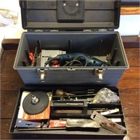 Tuff Box with Tools, Drill & Saber Saw