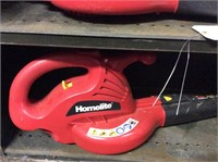 (2) Homelite Electric Blowers, Weedeater
