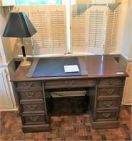 Sligh Writing Desk & Lamp