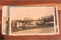 Cedar Box & Vintage Picture Postcards