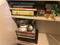Miscellaneous Contents of Cabinet