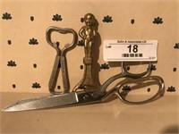 Wiss Scissors & 2 Bottle Openers
