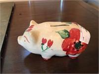 Piggy Bank full of Change