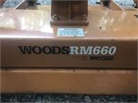 6' Woods RM 660 Finish Mower
