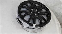 SET OF 4 BLACK HUBCAPS