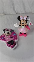 ASSORTED MINNIE MOUSE TOYS