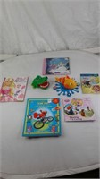 ASSORTED BOOKS & TOYS