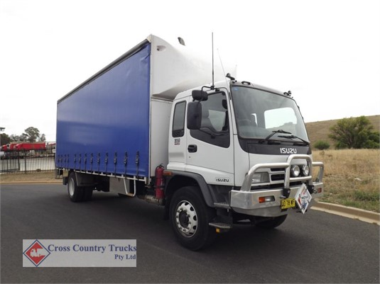 2007 Isuzu FVR950 Cross Country Trucks Pty Ltd - Trucks for Sale