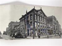"""Salem O. Panorama Postcard  21"""" long"""