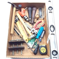 Box of Various Tools, Level