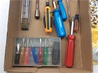 Box of Tools, Lufkin Micrometer, Syracuse Guage