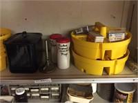 2 Shelves in Garage, Screws, Hardware