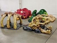 Public Auction: Dinosaur Play Area Structures