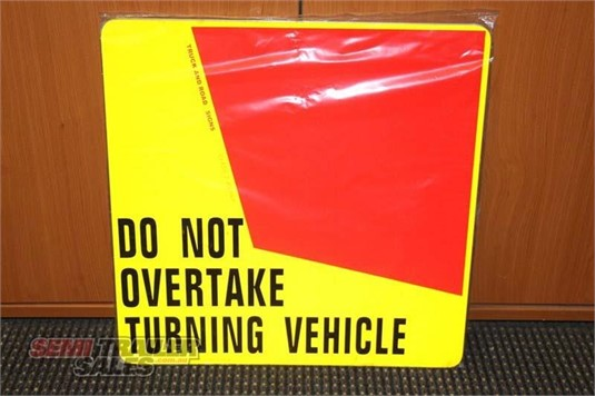 0 Semi Trailer Sales Rear Turning Signs - Parts & Accessories for Sale
