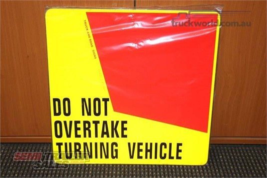 Semi Trailer Sales Rear Turning Signs - Parts & Accessories for Sale