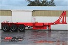 2005 Maxitrans Skeletal Trailer Skeletals Tipping
