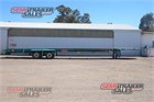 2004 Barker Skeletal Trailer Skeletal Trailers