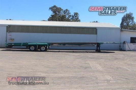 2004 Barker Skeletal Trailer - Trailers for Sale