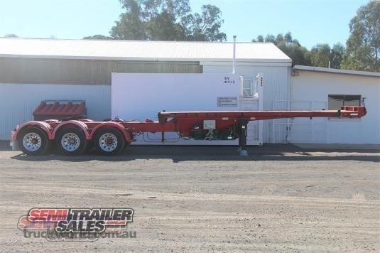 2000 Barker Skeletal Trailer - Trailers for Sale