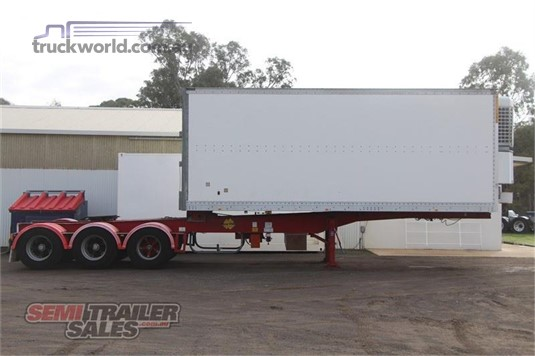 1998 Maxi Cube Refrigerated Trailer - Trailers for Sale