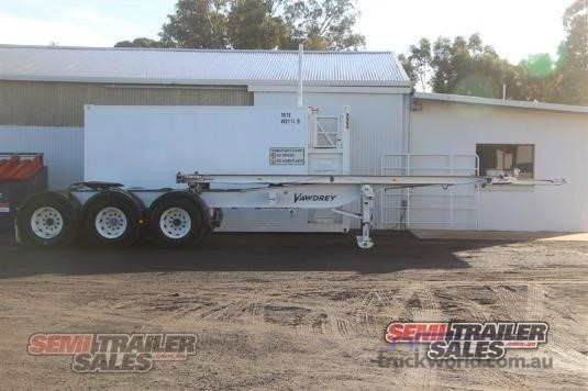 2007 Vawdrey Skeletal Trailer - Trailers for Sale