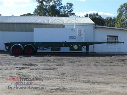 2006 Krueger Skeletal Trailer - Trailers for Sale