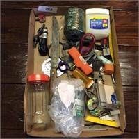 Box of Misc Garage