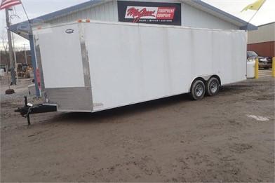 SNAPPER Enclosed White Cargo Trailer In Vendita 1 Elenchi