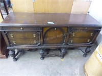 "2 piece buffet 71""x90"" approx. (vintage)"