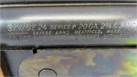 Savage 24 Series P Rifle cal. 22 Win Mag Over 20