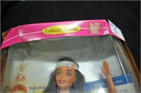 Collectors Edition American Indian Barbie #14715