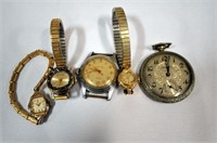 5 Assorted Watches