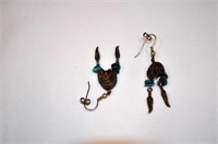 Assorted Earrings, Some Sterling