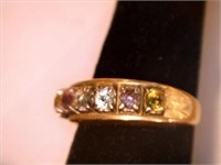 14kt Gold Rings w/Diamond Accents (men's ring)