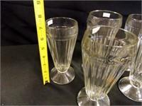Glass Sundae Goblets - 6 count