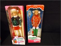 Holiday Barbies - 4 count